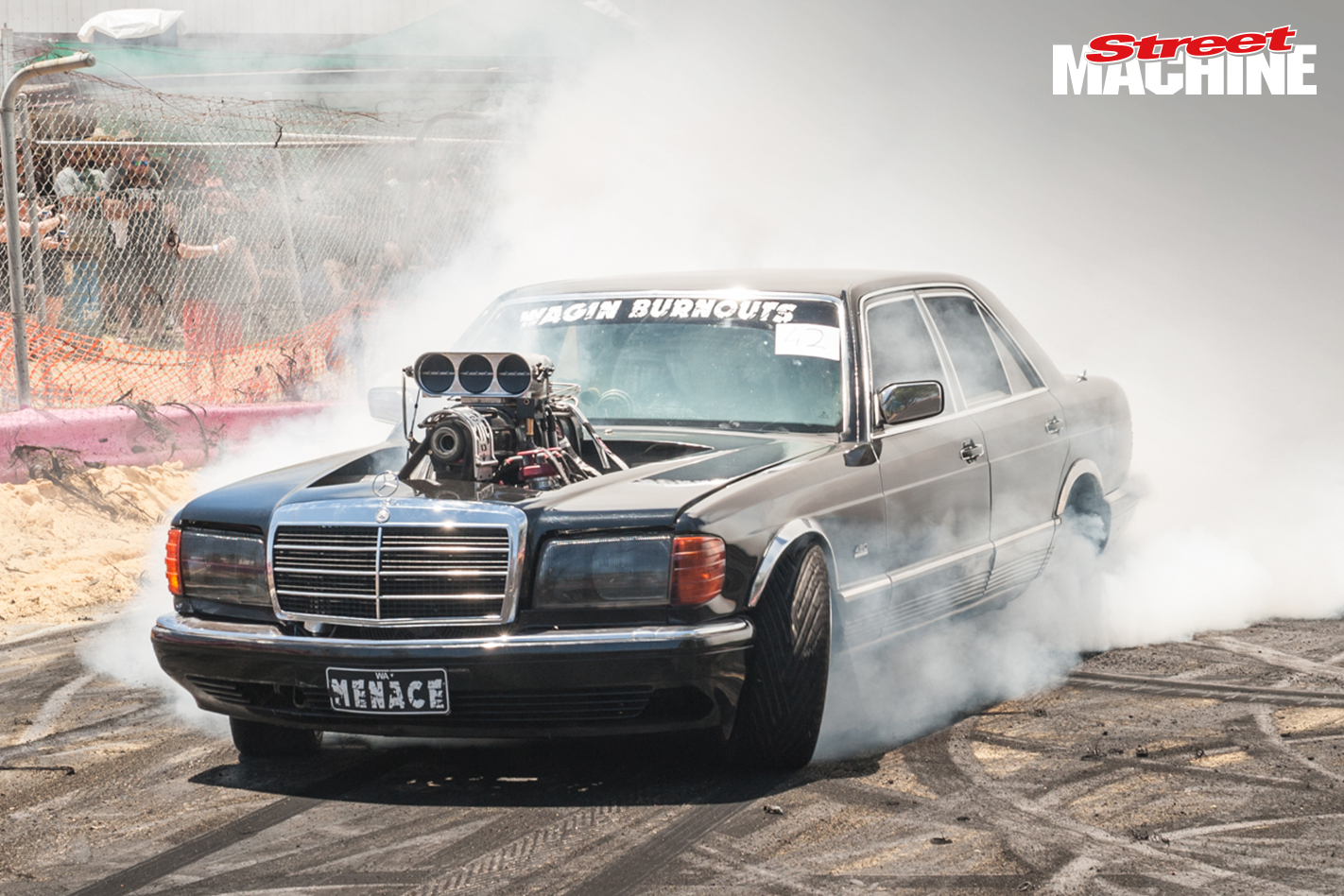 MENACE Mercedes Burnout 5591
