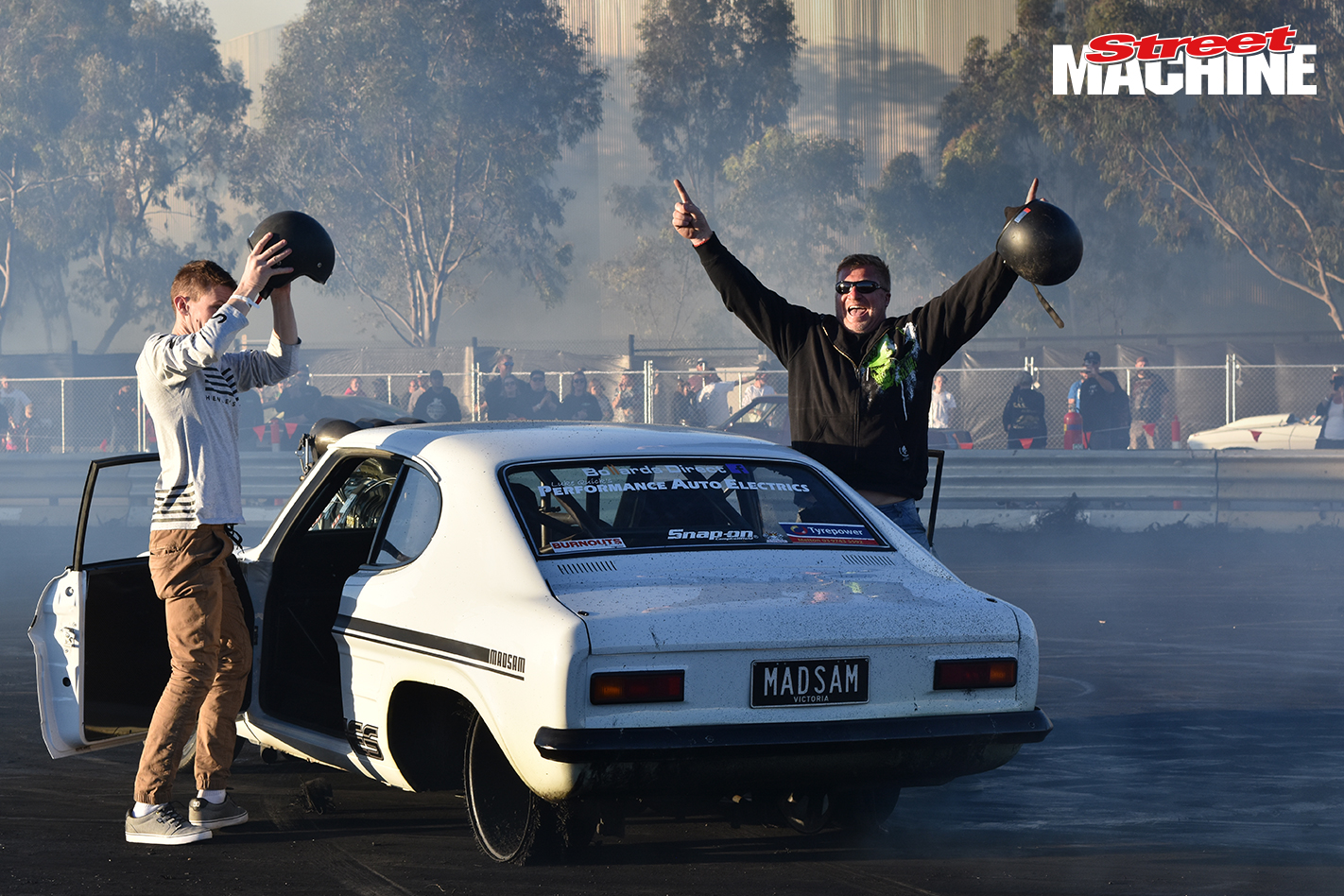 Ford Capri Blown Burnout MADSAM 1