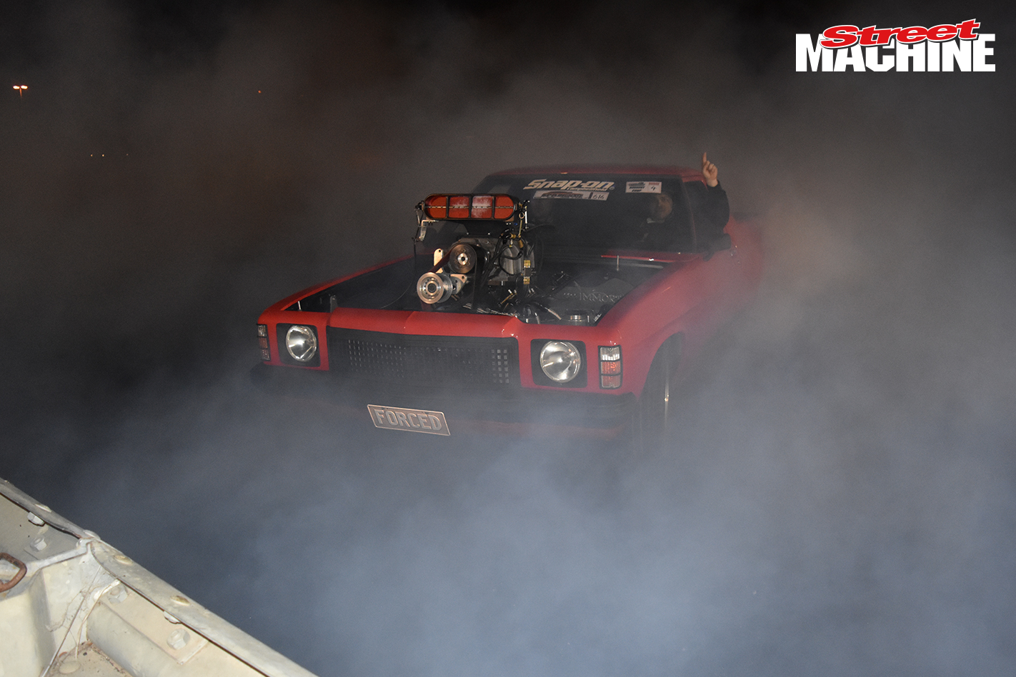 Holden HZ Ute Blown Burnout FORCED