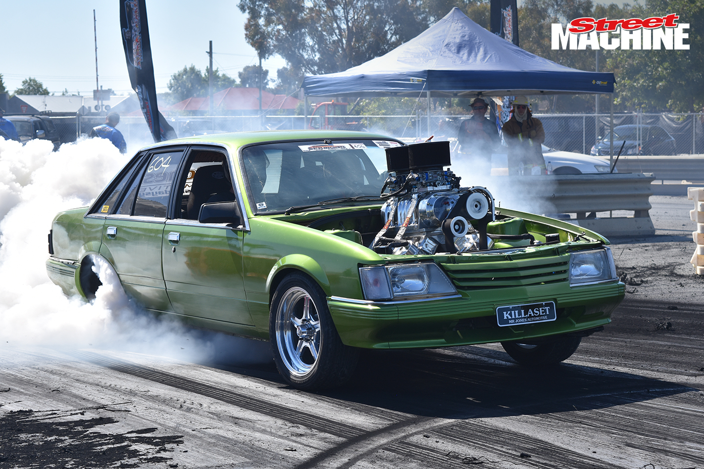 VK Commodore Burnout KILLASET