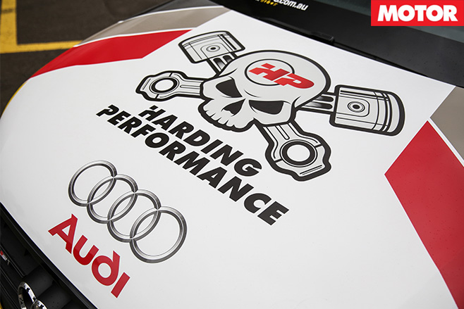 Harding Performance Audi S1 bonnet