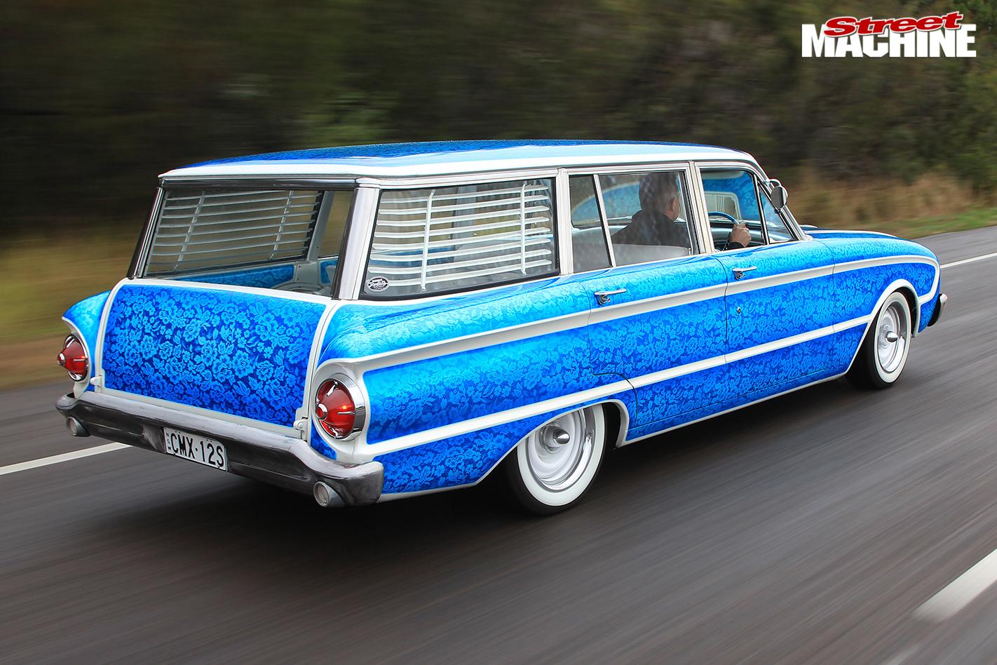 Ford -xm -falcon -wagon -onroad -rear