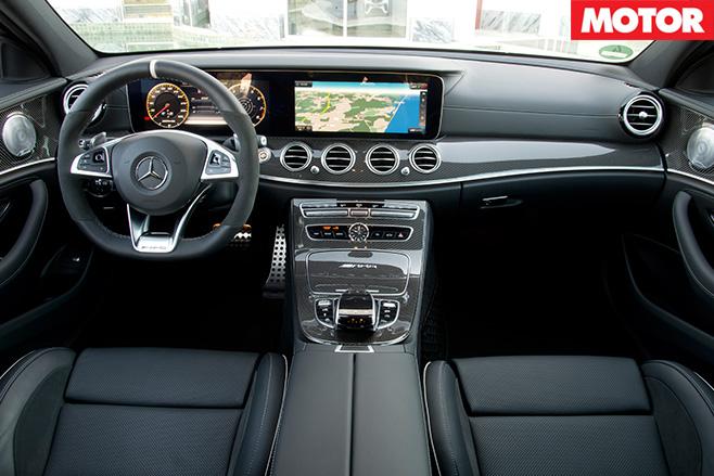 2017 Mercedes-AMG E63 S interior