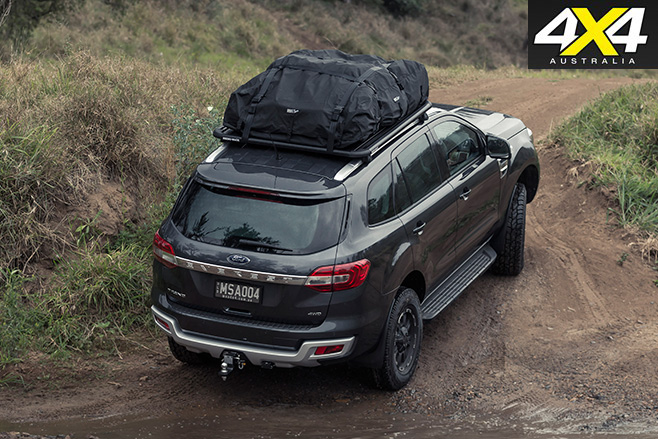 MSA 4X4 Ford Everest rear