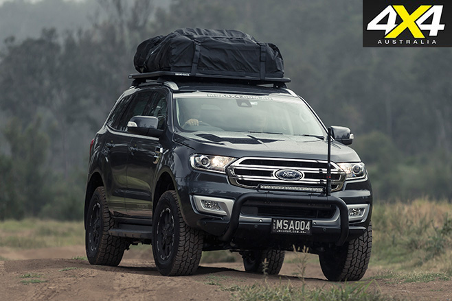 MSA 4X4 Ford Everest front