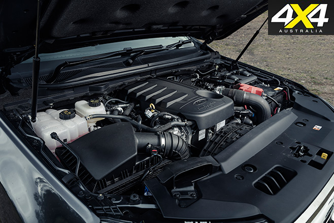 MSA 4X4 Ford Everest engine