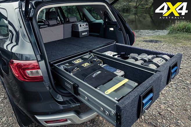 MSA 4X4 Ford Everest drawers