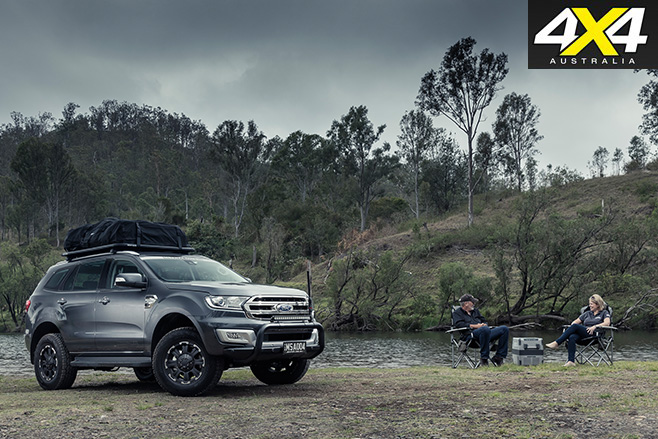 MSA 4X4 Ford Everest parked