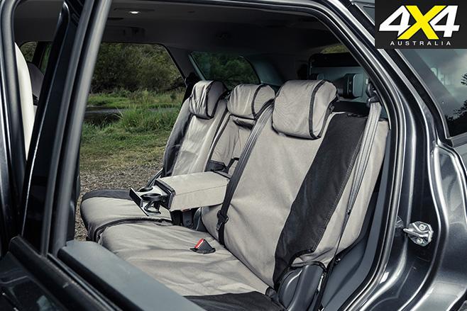 MSA 4X4 Ford Everest interior