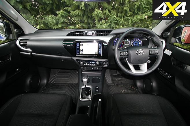 2016 Toyota HiLux SR5-V6 interior
