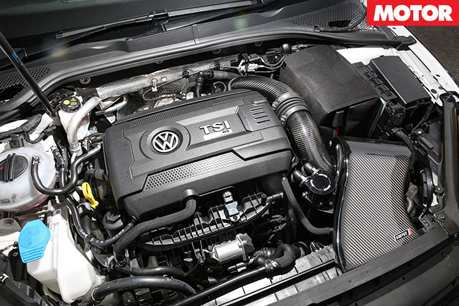 BWA Auto VW Golf R engine