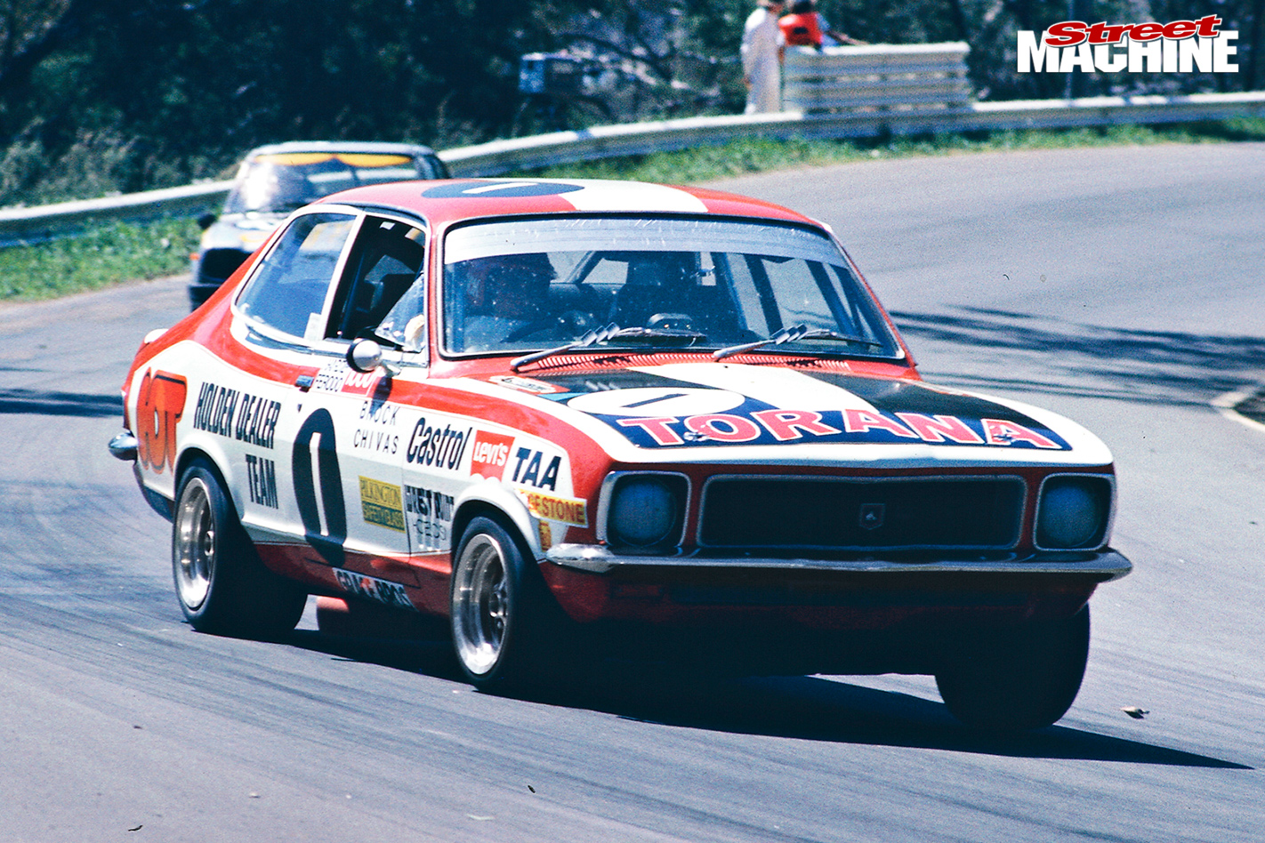 Holden -red -motor -torana
