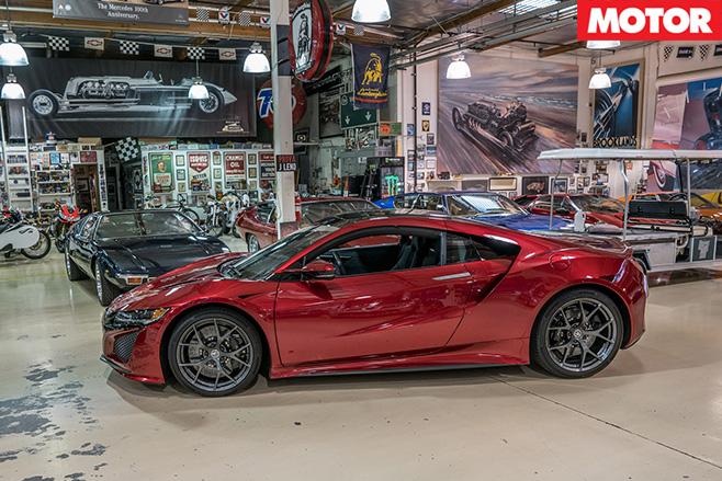 Honda NSX supercar