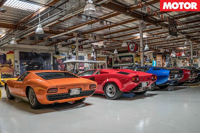 Lamborghini line
