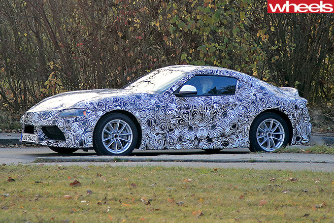 2017-Toyota -Supra -side -driving -front