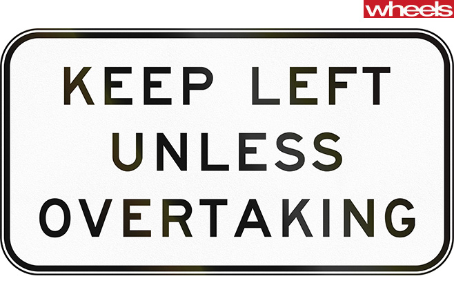 Keep -less -unless -overtaking