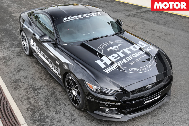 Herrod Performance Ford Mustang front