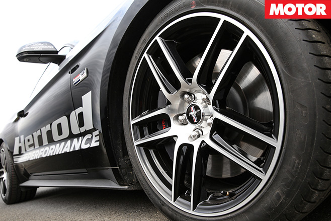 Herrod Performance Ford Mustang side wheels