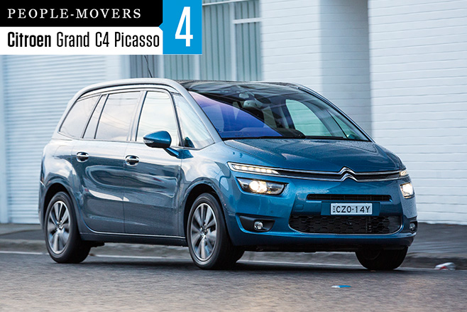 2016-Citroen -C4-Grand -Picasso -driving -front -side