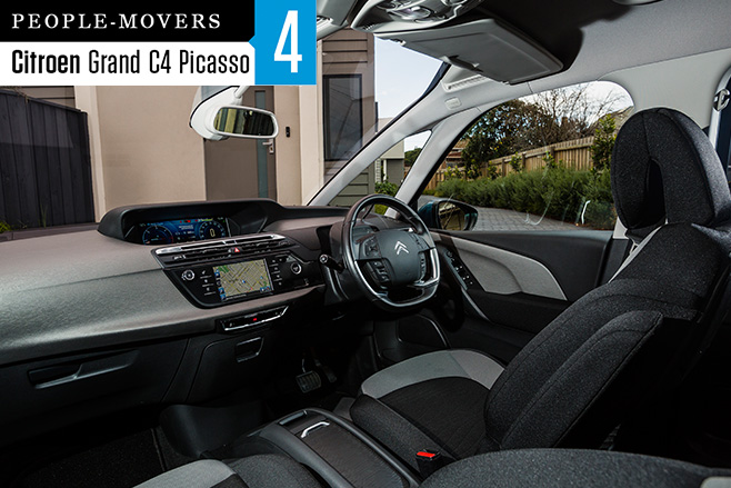 2016-Citroen -C4-Grand -Picasso -seven -seater -interior