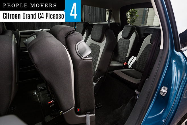 2016-Citroen -C4-Grand -Picasso -seven -seater -rear -seats