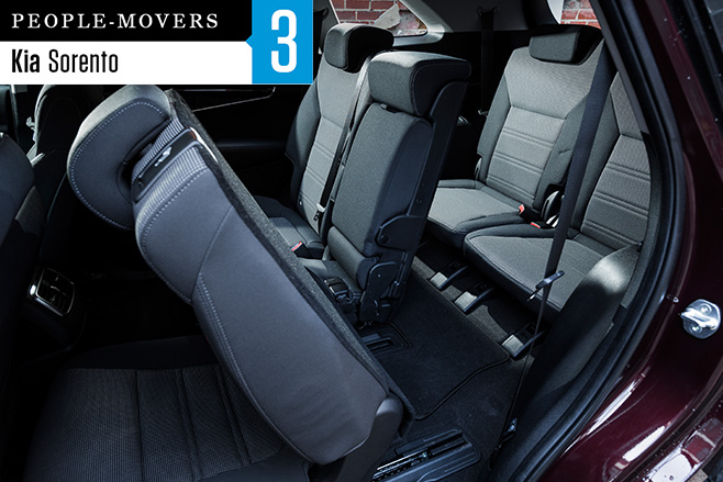 2016-Kia -Sorento -Si -side -seven -seater -rear -seats