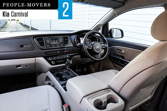 2016-Kia -Carnival -seven -seater -interior