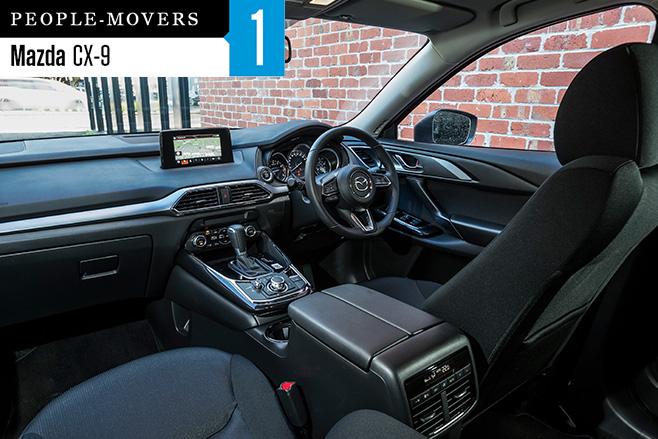 Mazda -CX-9-seven -seater -interior