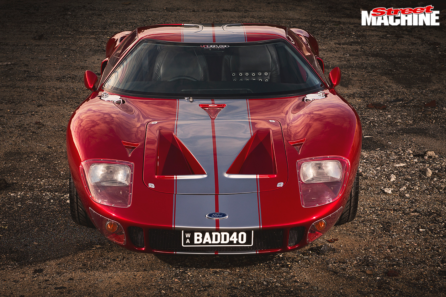 FORD BOSS V8-POWERED 2014 ROARING FORTIES GT40