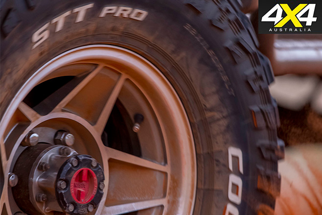 STT Pro tyres