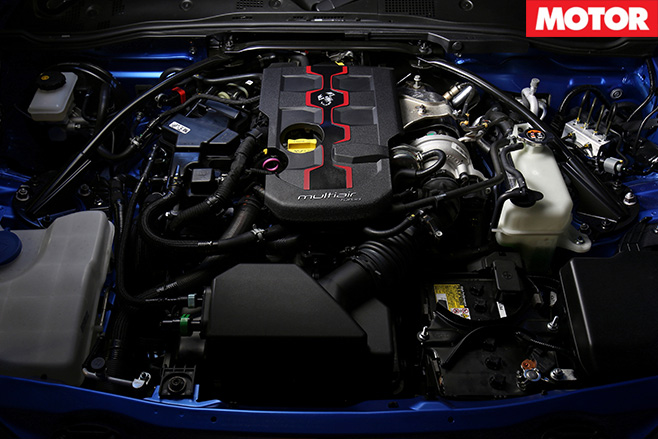 2016 Fiat 124 Spider engine