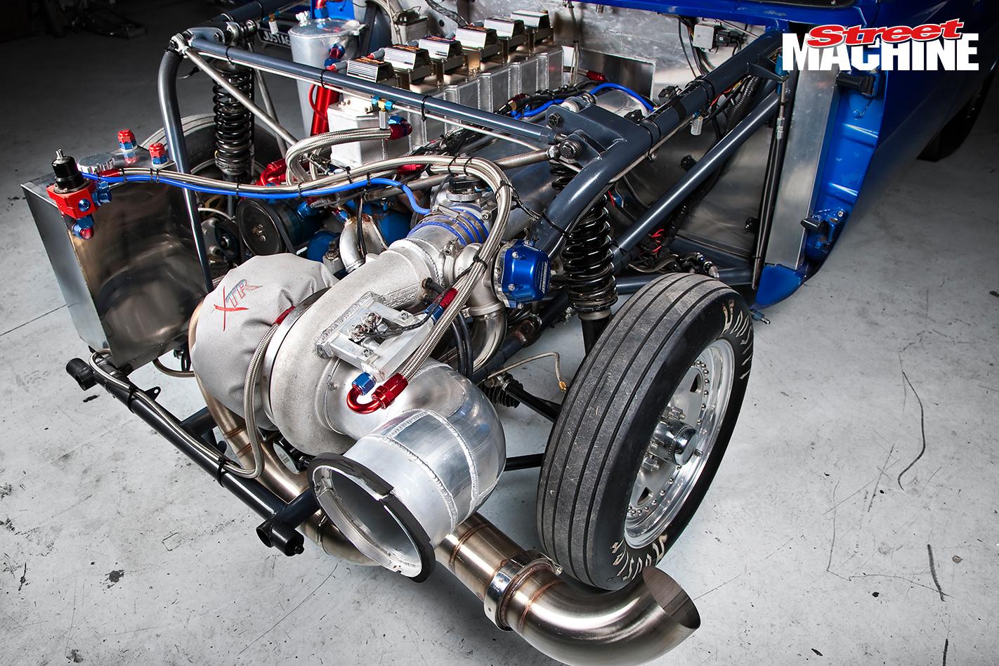 Chrysler Centura Turbo Hemi JUSTA6 Engine 1