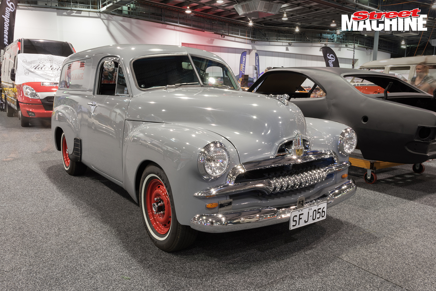 FJ Holden Panel Van