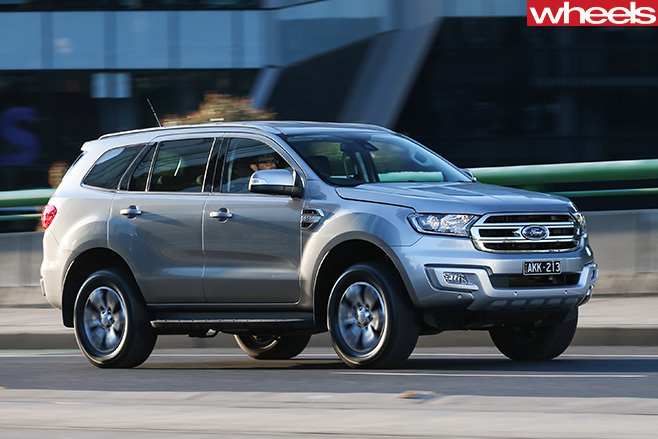 2017 Ford Everest RWD