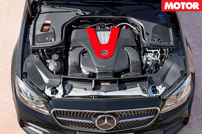 2016 Mercedes-AMG E43 engine