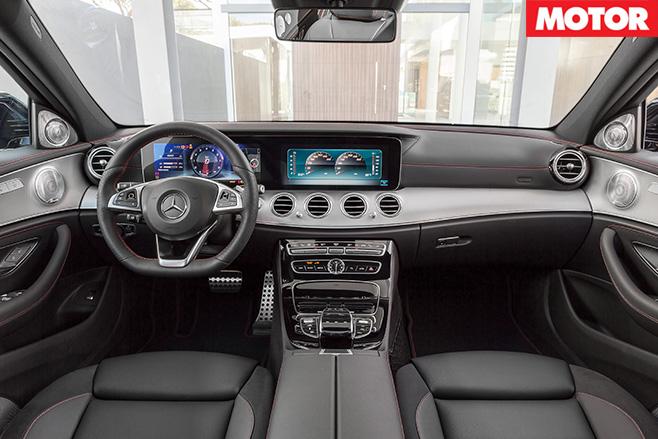 2016 Mercedes-AMG E43 interior