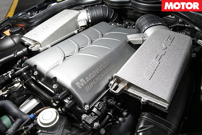 VCM Performance Mercedes-Benz C63 AMG engine