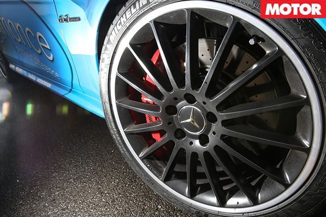 VCM Performance Mercedes-Benz C63 AMG wheels