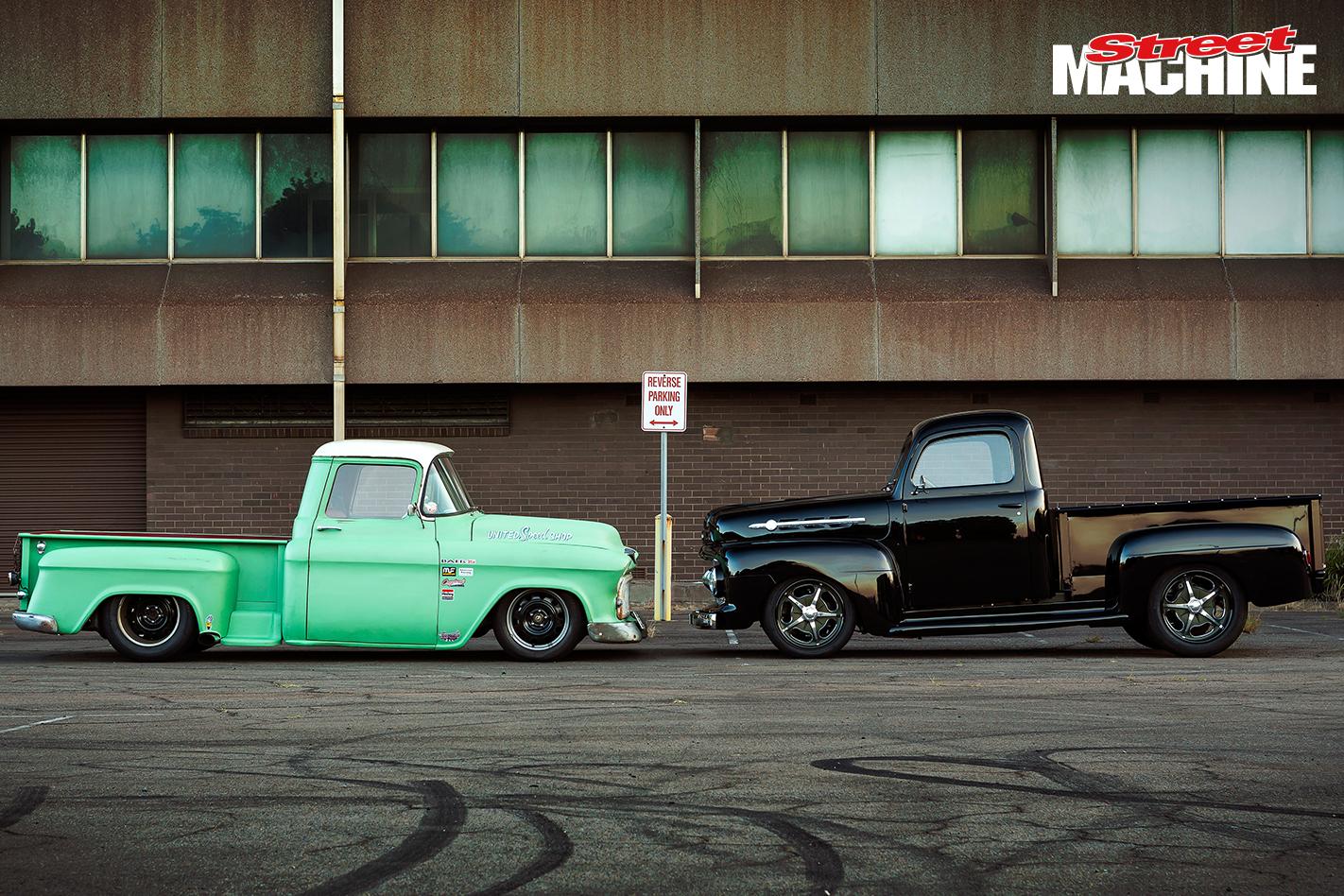 50S Pick Up Trucks