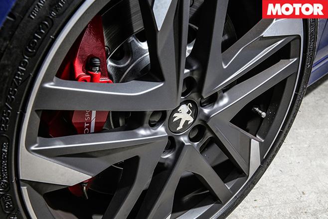 Peugeot 308 GTi wheels