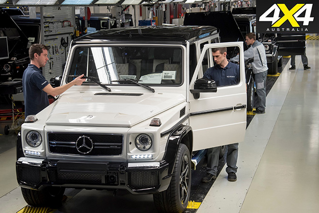 Mercedes-Benz producing G-Classes