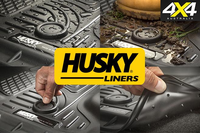 Husky floor liners