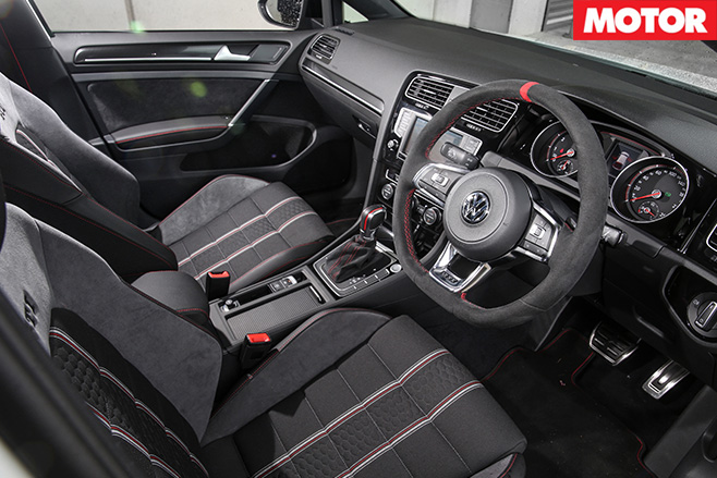 VW golfgti -interior