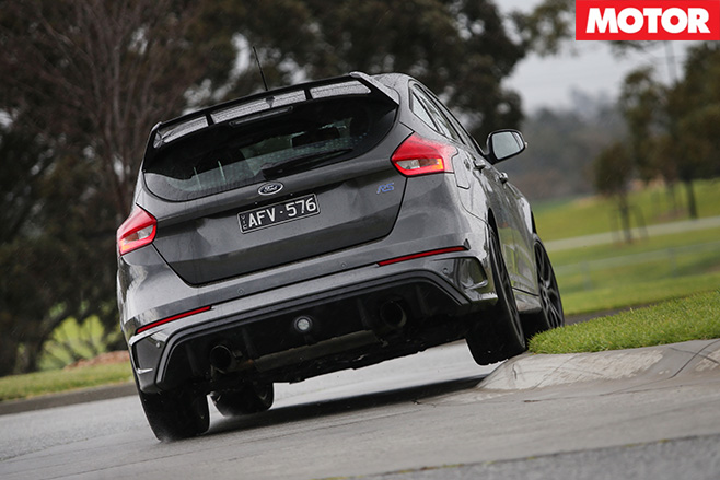 Ford Focus RS rear driving