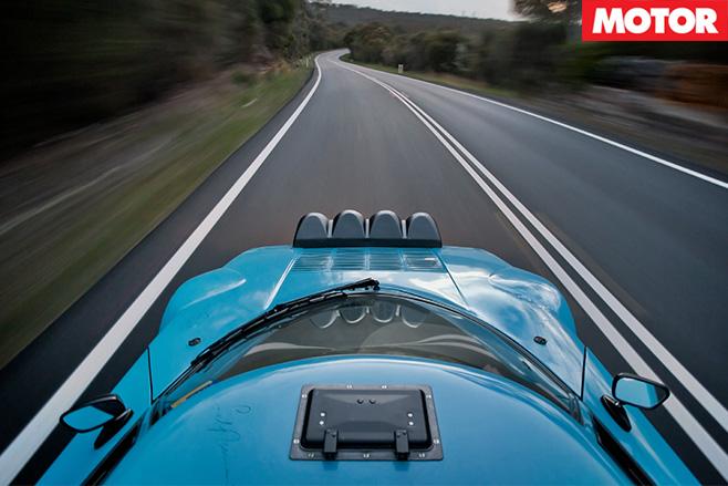 Lancia Stratos driving