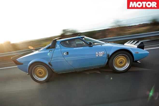 Lancia Stratos side