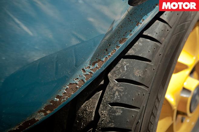 Lancia Stratos rust