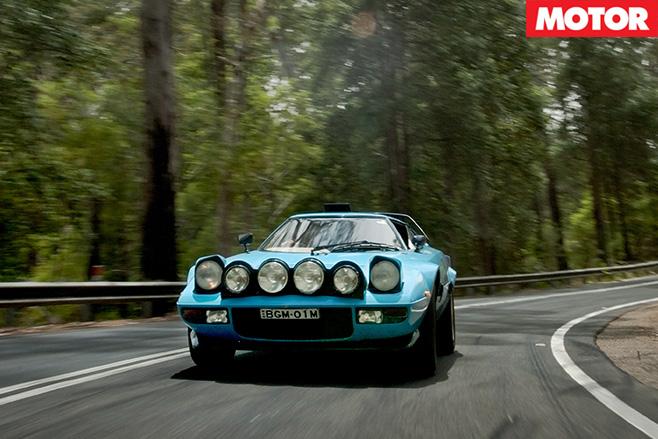 Lancia Stratos front