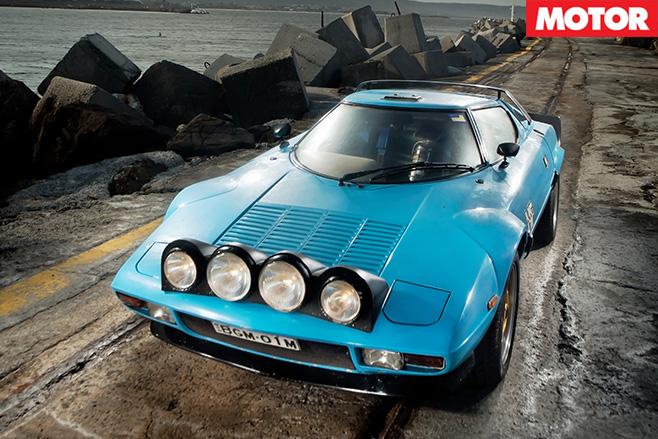 Lancia Stratos front still