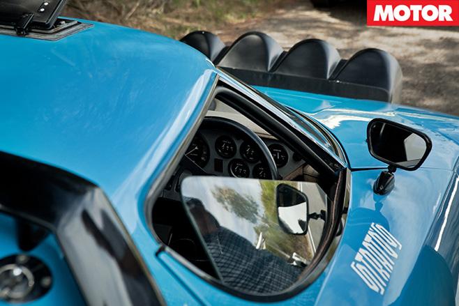 Lancia Stratos mirrors